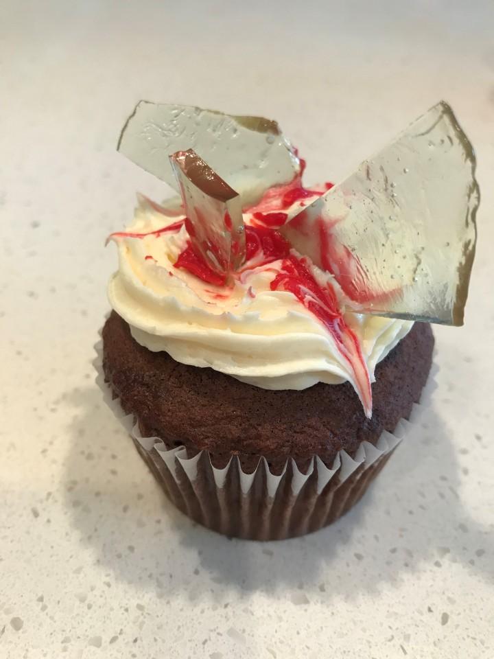 Celebrating Halloween with Bloody Sugar ShardCupcakes