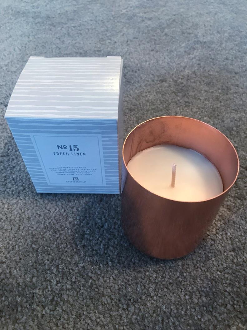 FFF Candle