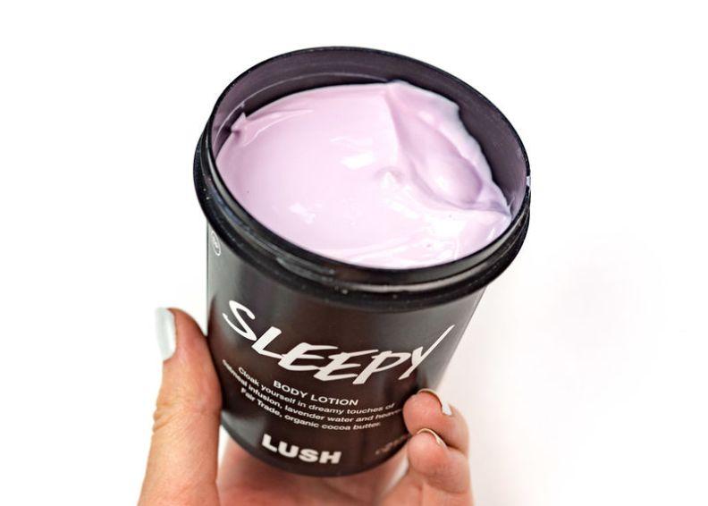 lush sleepy lotion